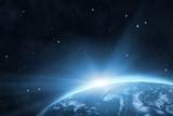 Blue planet Earth