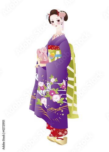 日本の舞子舞妓