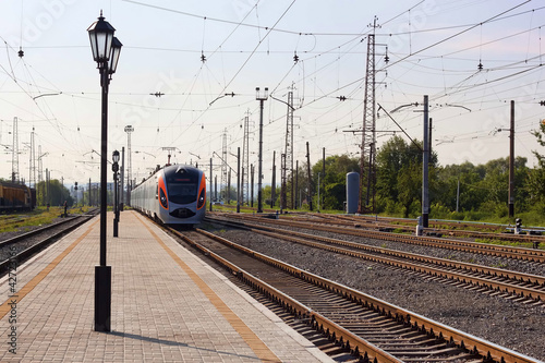 "High-speed train ""Donetsk-Kyiv"""