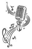Fototapety Musik, Musiknoten, Noten, Notenschlüssel, micro