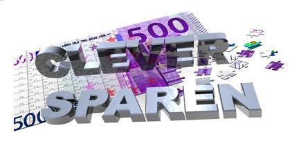 3D 500er Puzzle - CLEVER SPAREN