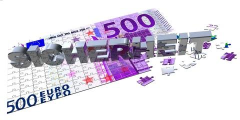 3D 500er Puzzle - SICHERHEIT