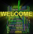 Wordcloud welcome