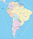 South America - Political Map