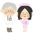 医者と看護士