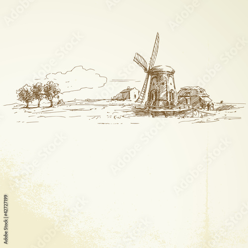 windmill - 42727199