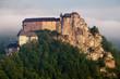 Slovakia castle at sunrise - Oravsky hrad