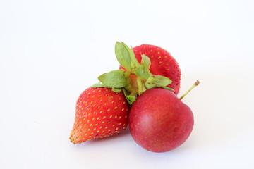 fresca composizione di frutta