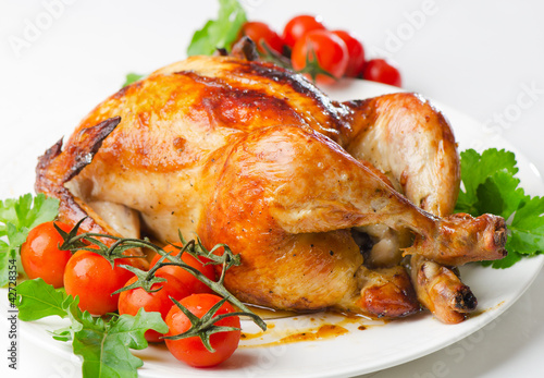 Chicken and tomatoes