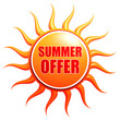 summer offer in sun