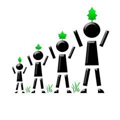 Bonhomme génération écologique