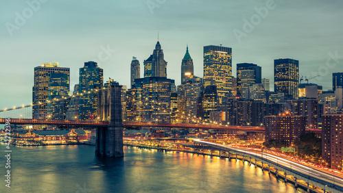 New York Manhattan Pont de Brooklyn - 42732396