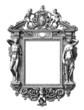 Leinwandbild Motiv Mirror Renaissance - 16th century