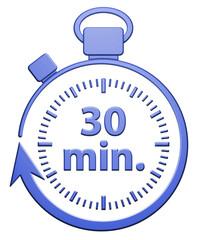 30 Minutes Chrono - Bleu