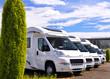 Auslieferung neuer Wohnmobile beim Hersteller - 42735717