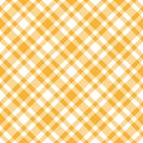 Karo Tischdecken Muster GELB - endlos - 42736325