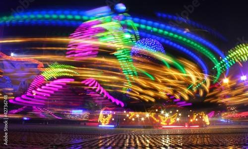 Lichter auf dem Jahrmarkt