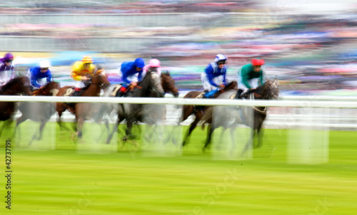 canvas print picture Royal Ascot Horse Race