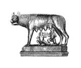 Romulus, Rémus & mother Wolf - Roman Legend poster