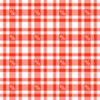 Prozente auf Karo Tischdecken Muster - endlos