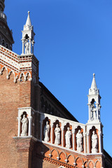 Facade of the church Madonna dell'Orto
