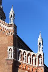 Facade of the church Madonna dell'Orto