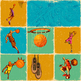 Basket Ball Collage