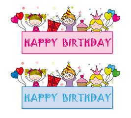 Tarjetas cumpleaños feliz