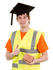 Graduate bricklayer