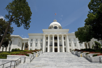 State Capital Building in Montgomery,Alabama.
