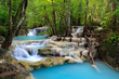 canvas print picture - Erawan Waterfall, Kanchanaburi, Thailand