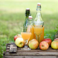Erntezeit, Apfelsaft