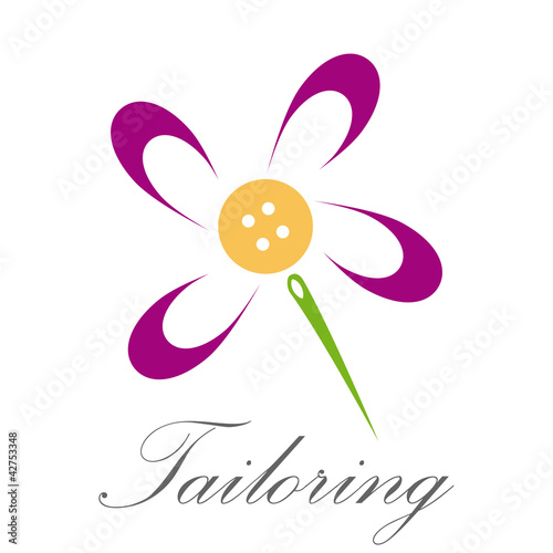 Abstract Logo tailoring # Vector