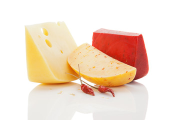 Colorul bright cheese background.