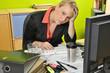 Bürokraft überarbeitet