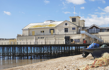 Pier at Bognor Regis. Sussex. England