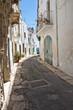 Alleyway. Ostuni. Puglia. Italy.