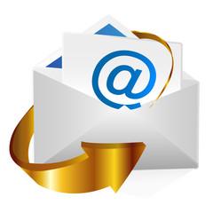 メール アットマーク 手紙