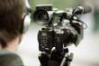 Leinwandbild Motiv news shooting