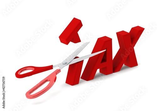 Cut tax