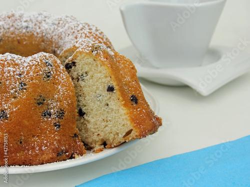 Rührkuchen mit Schokoladestückchen
