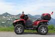 Mit dem ATV auf dem Furkajoch