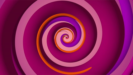 A seamlessly looping spinning spiral. Hypnotize your audience!