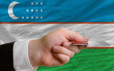 buying with credit card in uzbekistan