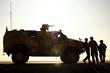 Leinwandbild Motiv German Army in Afghanistan