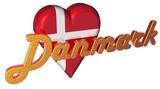 3D Herz - Danmark poster
