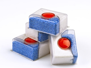 group of bars of soap for dishwashers