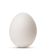"""Постер, картина, фотообои """"egg isolated on white background with clipping path"""""""