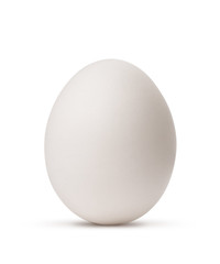 egg isolated on white background with clipping path