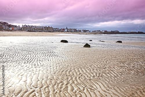 Naklejka Plaża w North Berwick, East Lothian